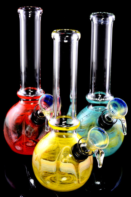 (US Made) Small Colorful Glass Water Pipe - WP1521