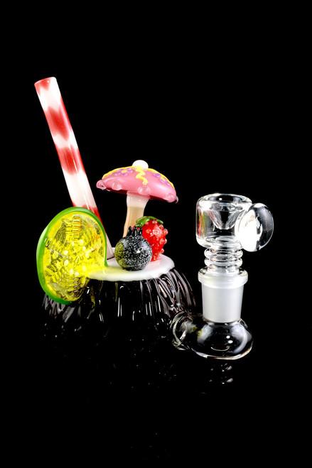 (US Made) Coconut Colada Mini Rig - WP1538