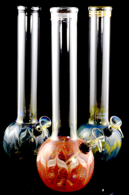 (US Made) Large Colorful Glass Water Pipe - WP1554