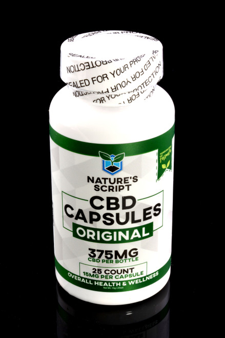 25 Count CBD Capsules - CBD193