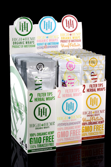 High Hemp Organic Wraps - RP239