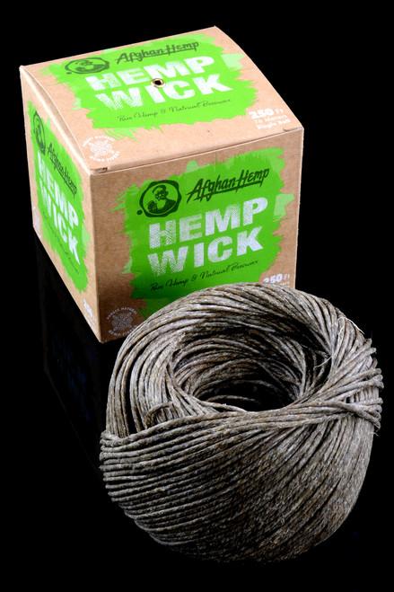 250' Spool Hemp Wick - M0288
