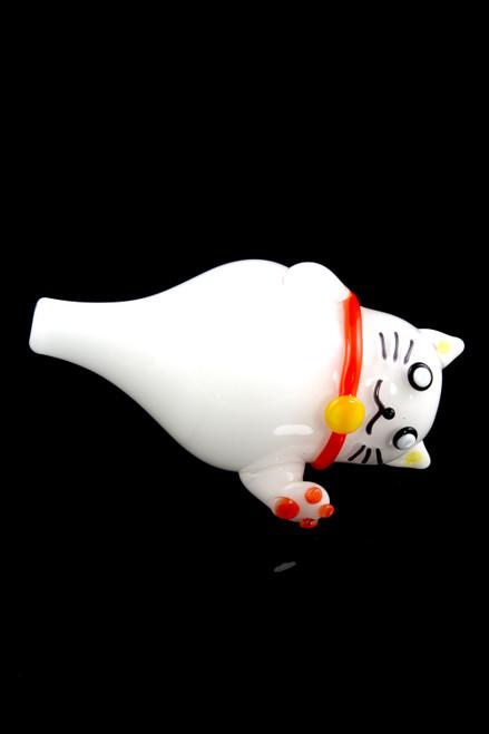 (US Made) Zen Kitty Bubble Cap - BS577