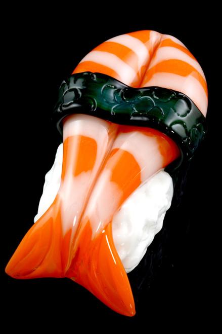 Shrimp Nigiri dry pipes in bulk.