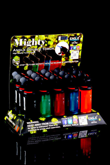 15 Pc Eagle Mighty Angle Double Torch Display - L0196
