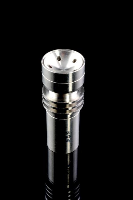 (US Made) GR2 14.5mm Female 5 Hole Titanium Spinner Nail - BS578