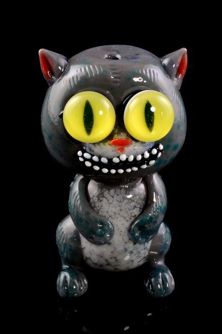 Wholesale Cheshire cat glass pipe.