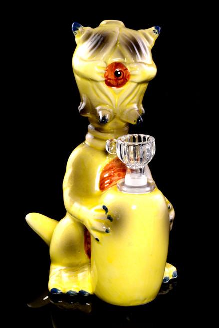 Unique glass dinosaur wholesale bong.
