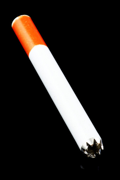 Large Metal Cigarette Bat with Teeth - MP154