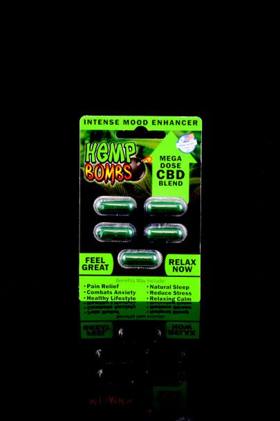 5 Count CBD Capsules - CBD110