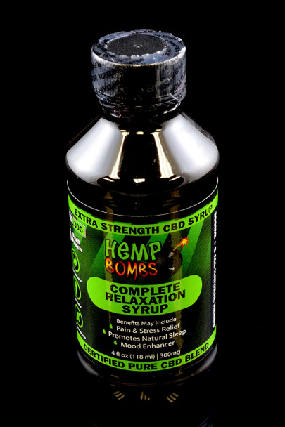300mg CBD Relaxation Syrup - CBD123