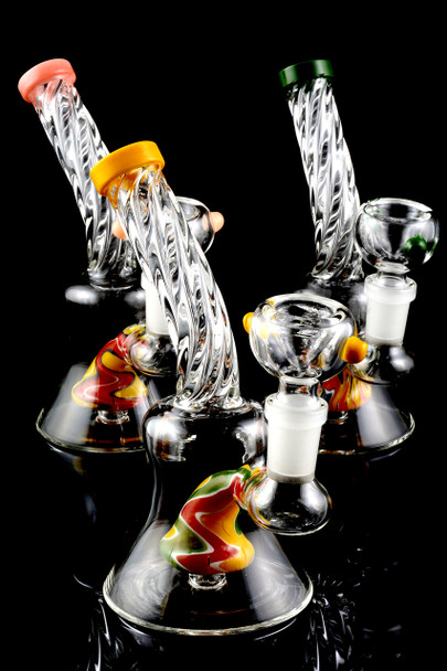 Small GoG Twisted Reverse Water Pipe - WP1443