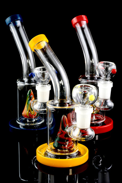 Small GoG Twisted Reverse Water Pipe - WP1574