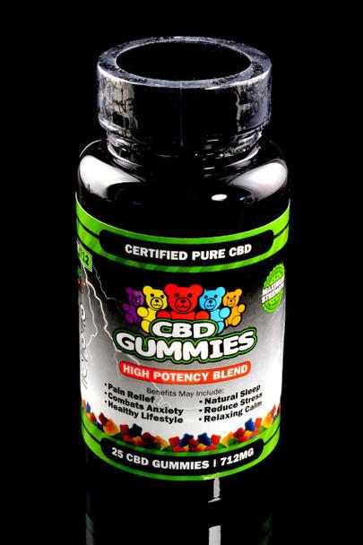 25 Count High Potency CBD Gummies - CBD211
