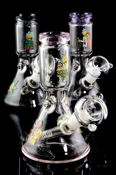 Small R&M Stemless GoG Beaker Water Pipe - WP1702