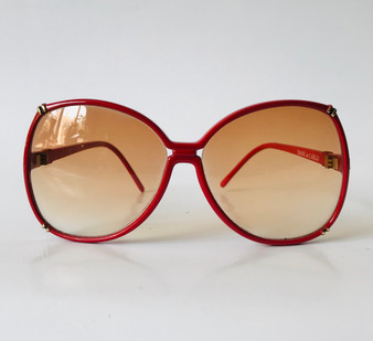 Diane de Carlo Vintage Sunglasses Red 6607