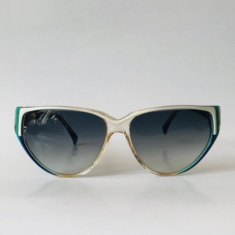 Chloé Paris Vintage Sunglasses Green, Purple and White