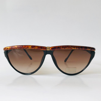 Sover Vintage Sunglasses Black & Brown 309