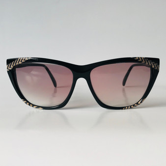 Yves Saint Laurent Vintage Sunglasses Black 8608