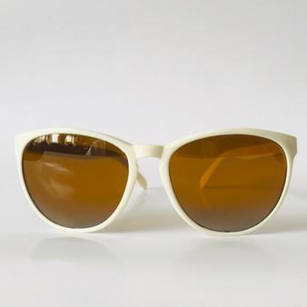 Bollé Vintage Sunglasses White