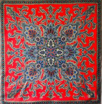 Vintage silk scarf 033