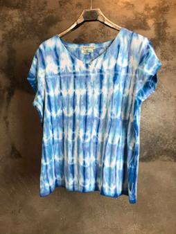 T-Shirt Tie & Dye Azul