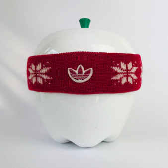 80s Headband Adidas Red
