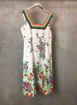 Vestido de Alças Original Anos 60 em Linho