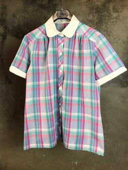 Camisa de Quadrados dos Anos 80