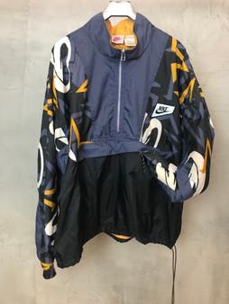 Nike Jacket em Azul cinza e Amarelo