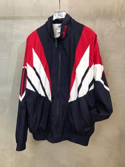 Adidas Jacket Anos 90, Azul Branco e Vermelho