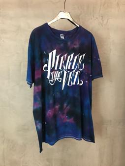 """T-Shirt Tie & Dye Azul Roxa """"Pierce de Veil"""""""