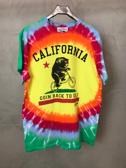 T-Shirt Tie & Dye Going Back to Cali