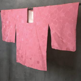 Kimono Vintage Japonês com Print Geométrico