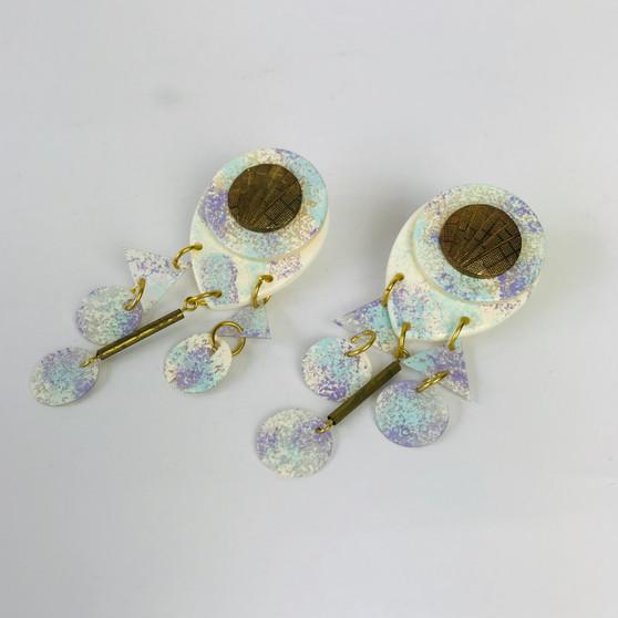 80s New Wave Spongy Earrings