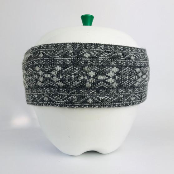 80s Headband Gray