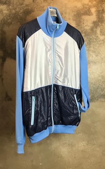 90s Jacket Azul e Cinza