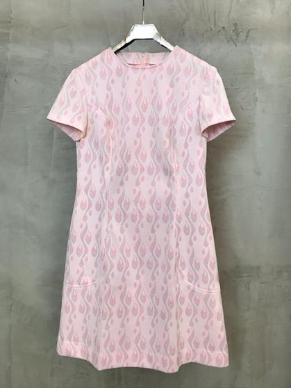 Vestido Rosa Original dos Anos 60