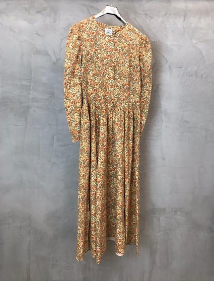 Vestido Romântico Laura Ashley Anos 80