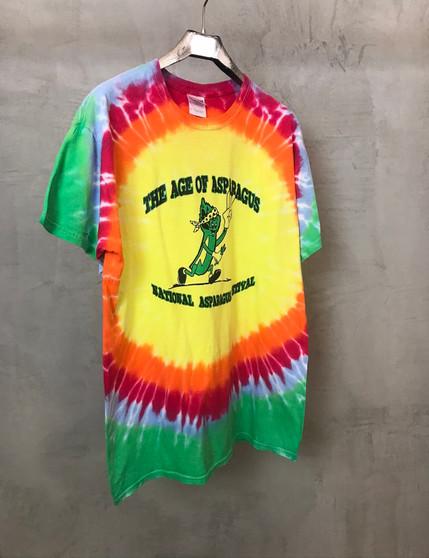 T-Shirt Tie & Dye Aspargus