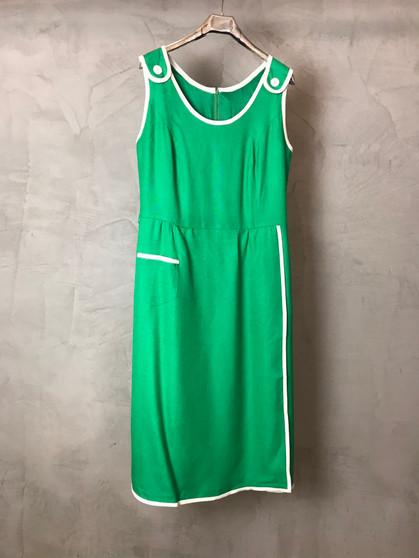 Vestido Verde dos Anos 60