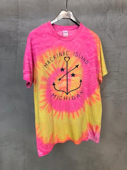 T-Shirt Tie & Dye Mackinac Island