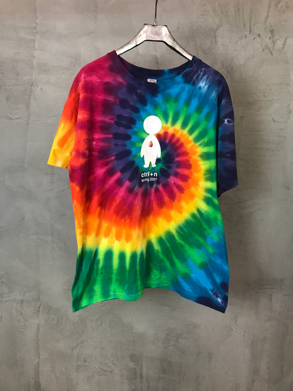 T-Shirt Tie & Dye Arco-Íris CTRL N