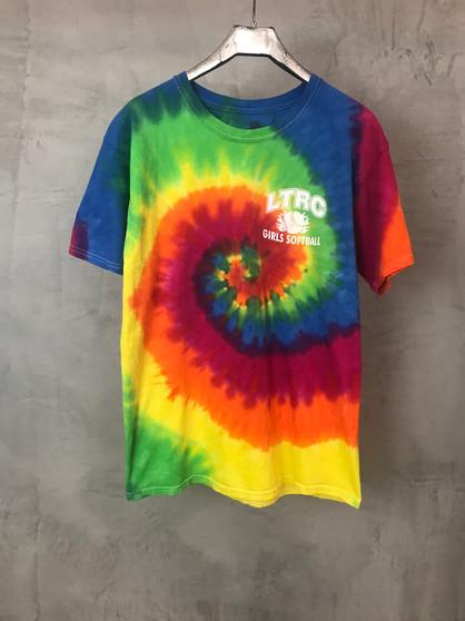 "T-Shirt Tie & Dye ""Girls Softball"""