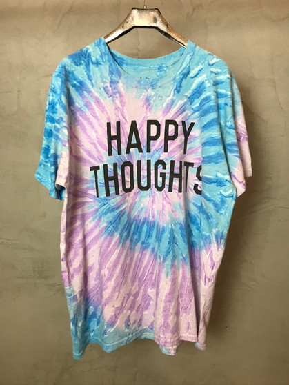 T-Shirt Tie & Dye Happy Thoughts
