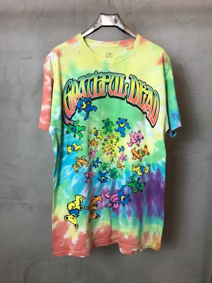 T-Shirt Tie & Dye Grateful Dead Ursos