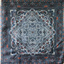 Vintage silk scarf S038