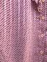 Camisa Rosa e Preta Anos 90 com Folhos