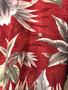Hawaiian Shirt Pierre Cardin Vermelha e Creme