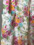 Vestido de Alças com Flores dos Anos 60